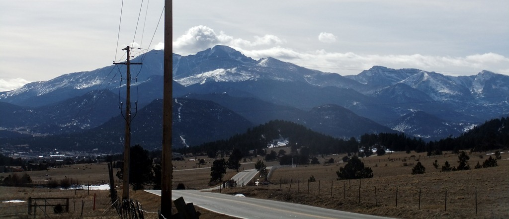 Estes Park from top of Devils Gulch rd / wundervue