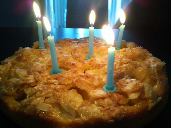 Birthday cake, Tirolean style! Apfelkuchen