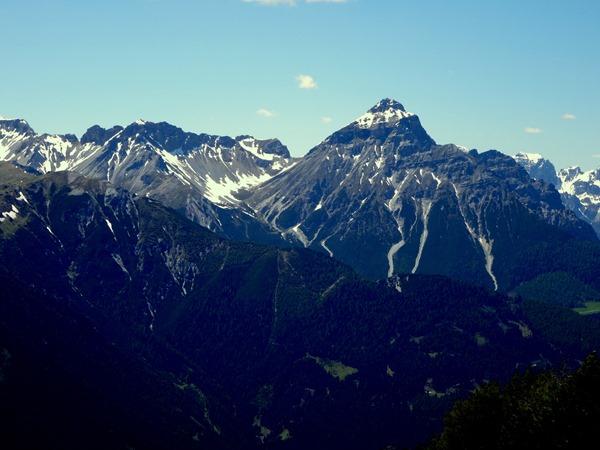 Serles Peak in Tirol, Austria