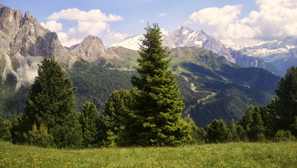 Passo Sella, Sellaronda circuit, The Dolomites