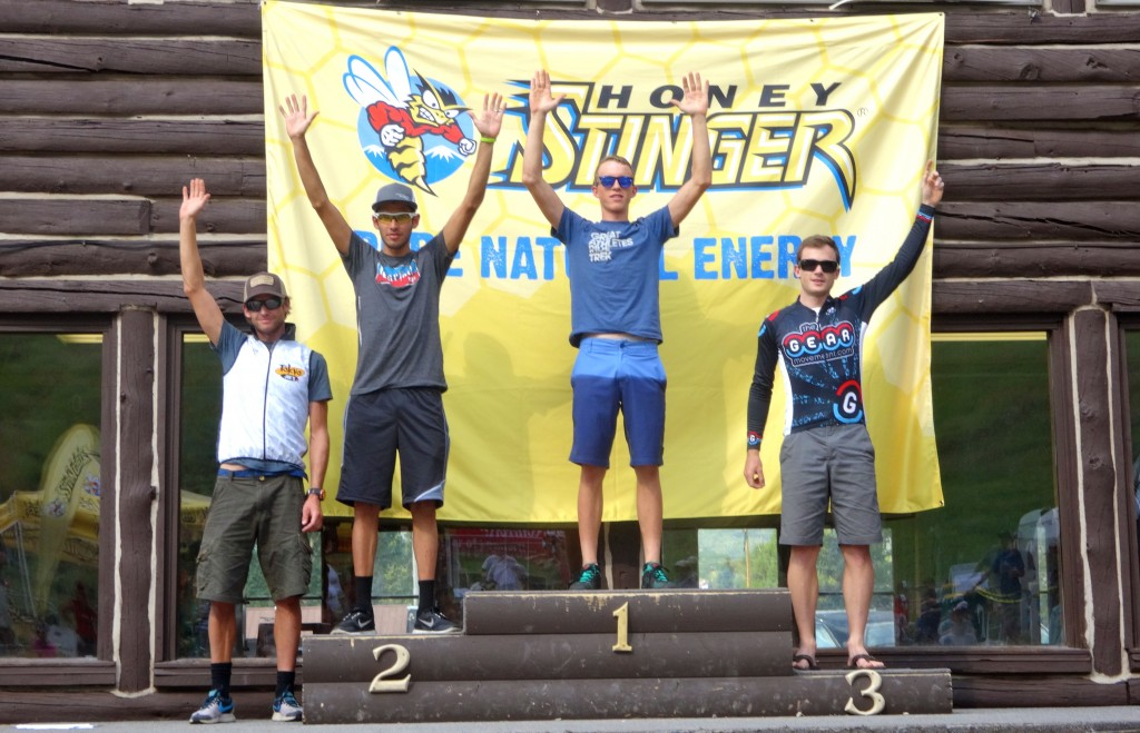 2013 Steamboat Stinger pro open men Podium