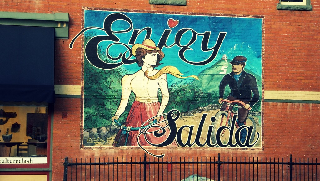 Salida, Colorado is worth visiting for it Moutain biking, River Rafting and awesome bars and restaurants