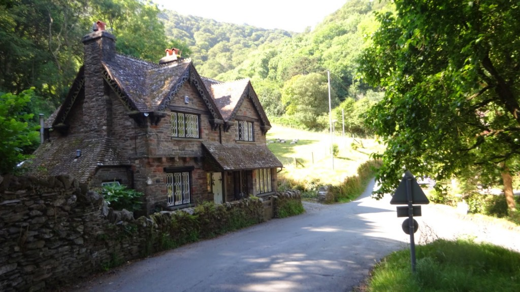 A small cottage in the grounds of Lee Abby. This private estate is just west of Lynton and has amazing grassland going right down to the sea
