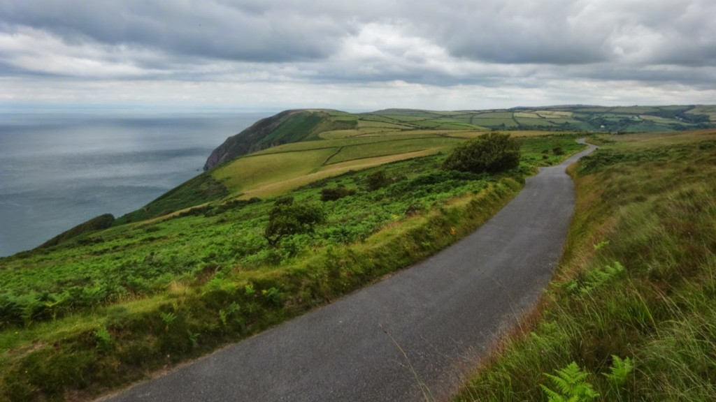 Trentishoe Down is at the western edge of Exmoor, where the unrelenting hills finally subside into the friendlier North Devon countryside