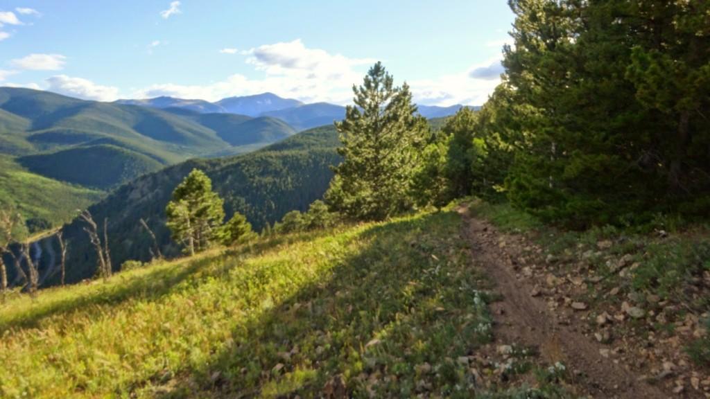 James peak overlook trail. Nederland, Colorado