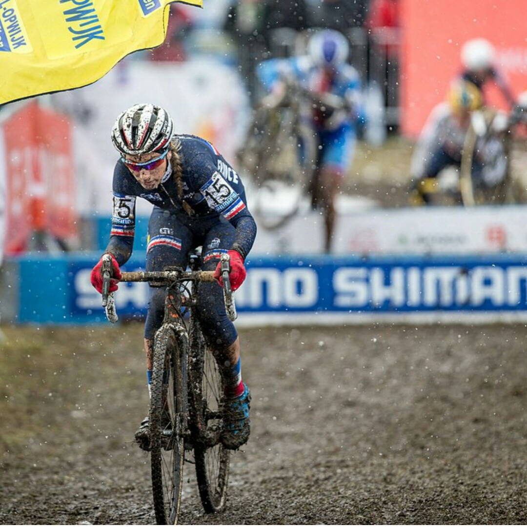 Prevot prevailed in a close battle with Sanne Cant