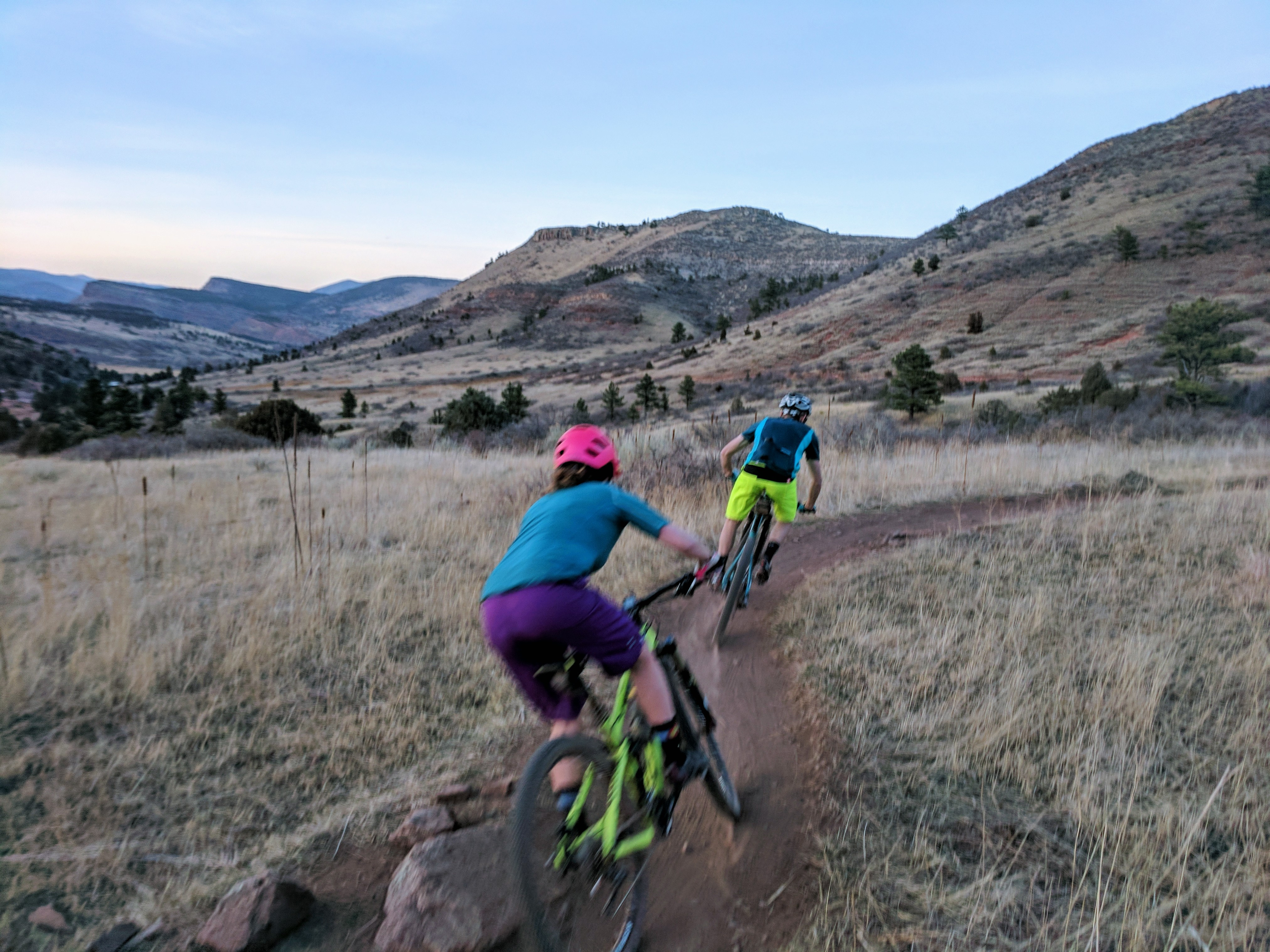 Lots of trail time in Lyons this spring